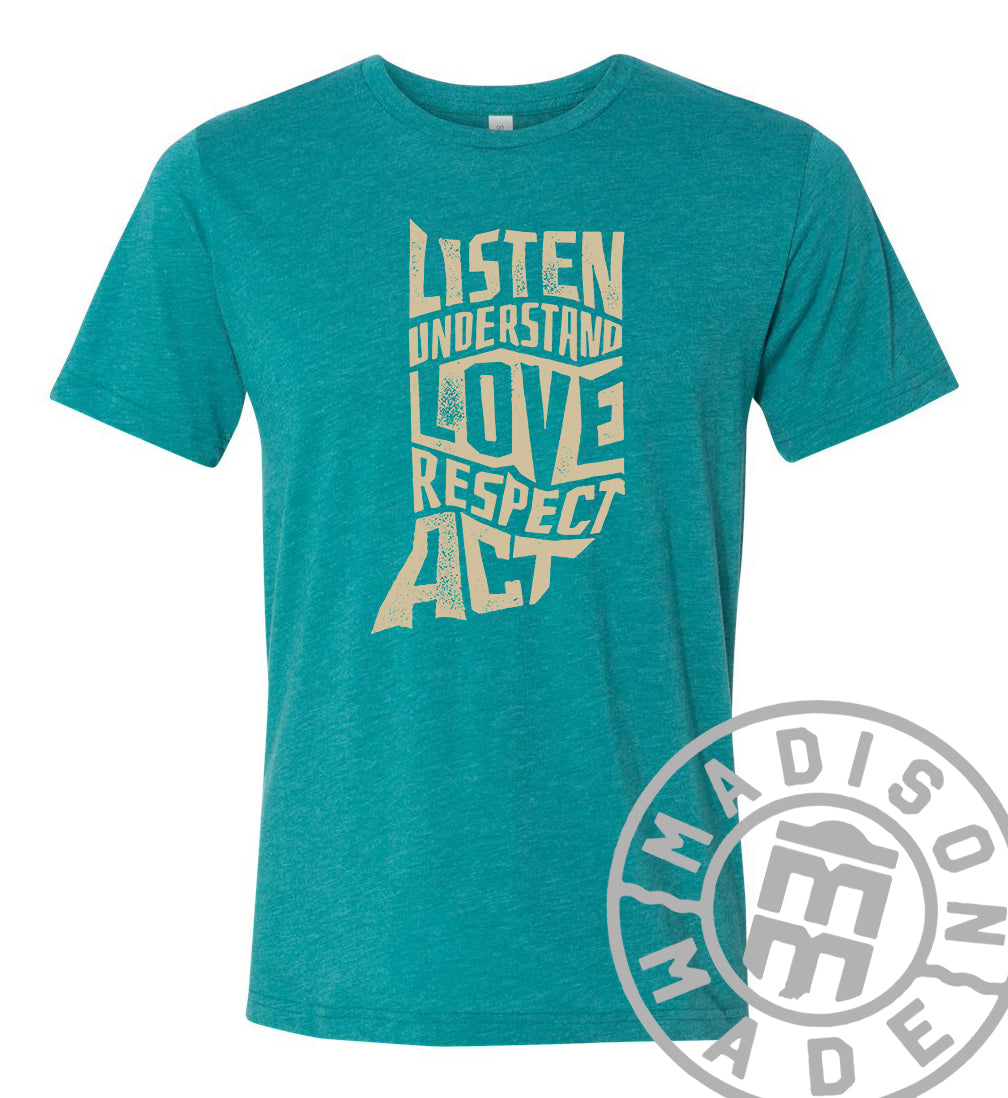 LOVE Indiana Tee (Teal)