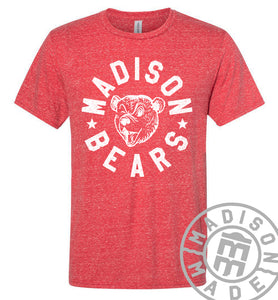 Madison Bears Red Tee