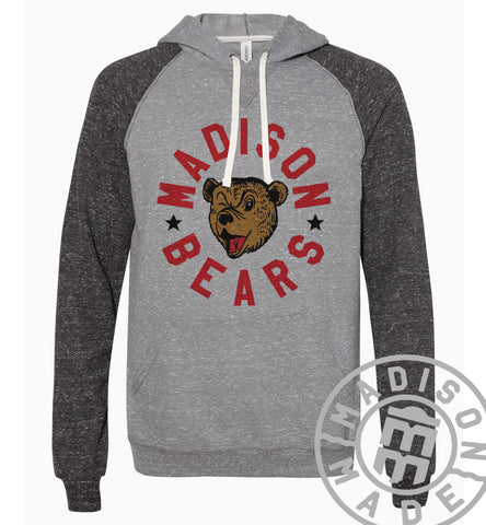 Madison Bears Adult Hoodie