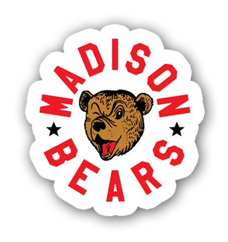 Madison Bears Sticker