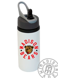 Madison Bears Aluminum Water Bottle