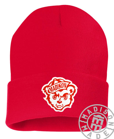 Madison Cubs Red Beanie