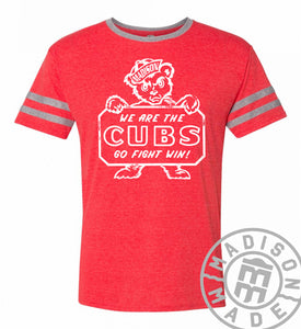 Madison Cub Red & Gray Tee