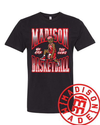 Madison Basketball Retro Youth Tee