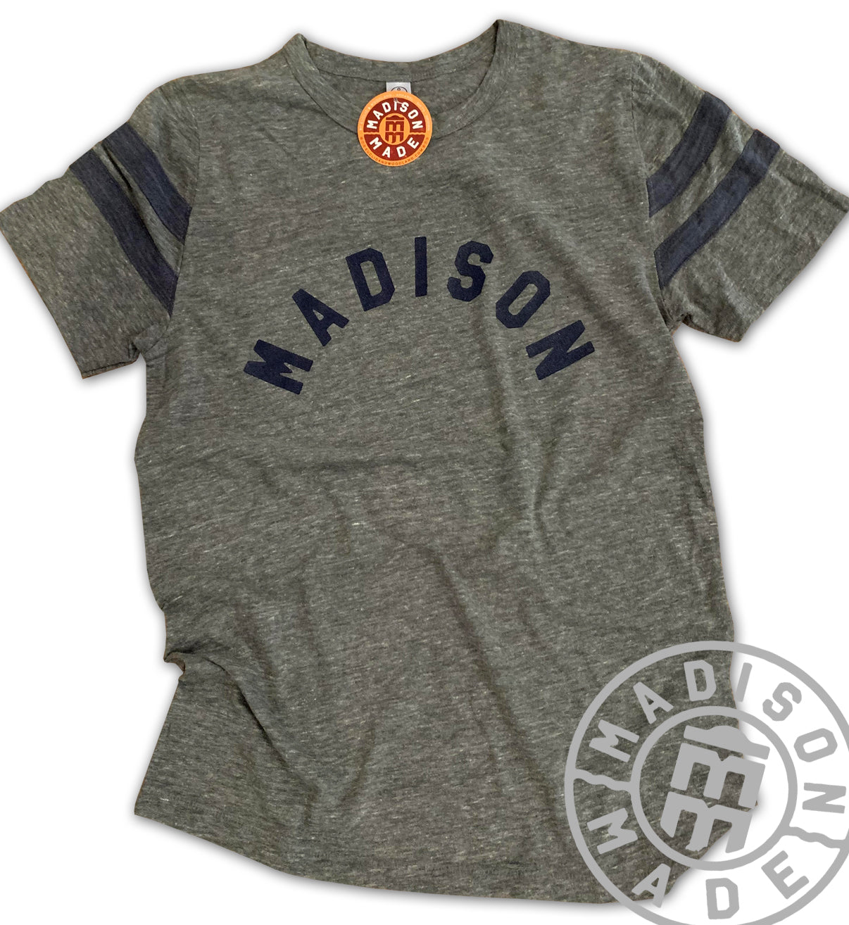 Madison Gray Arc Tee