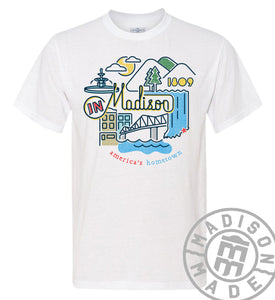 Madison Icons Short Sleeve Tee