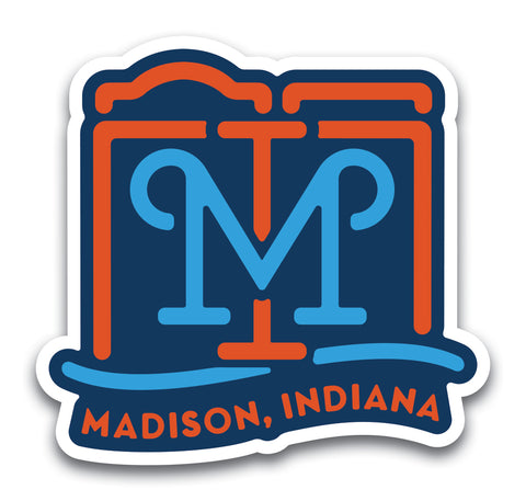 Madison MI Sticker