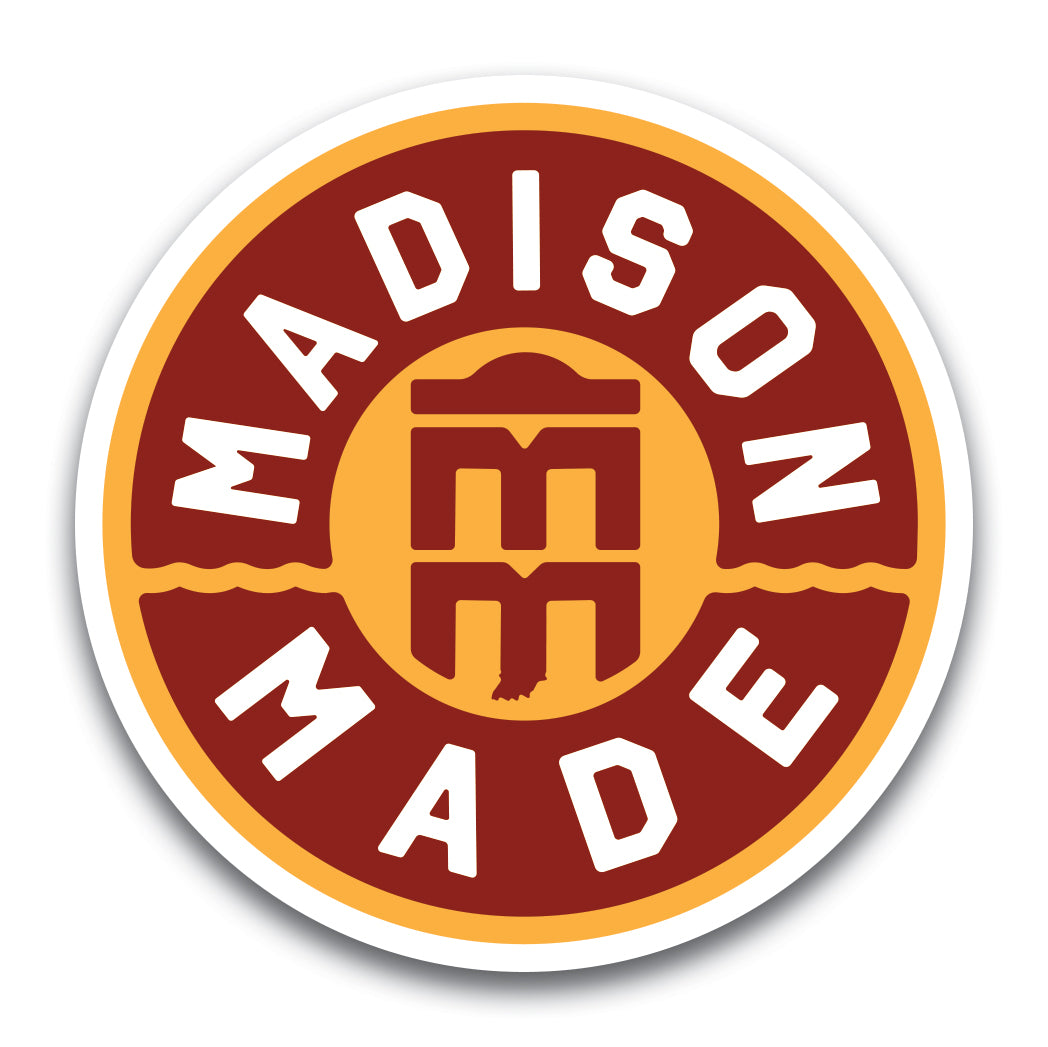 Madison Made Sticker