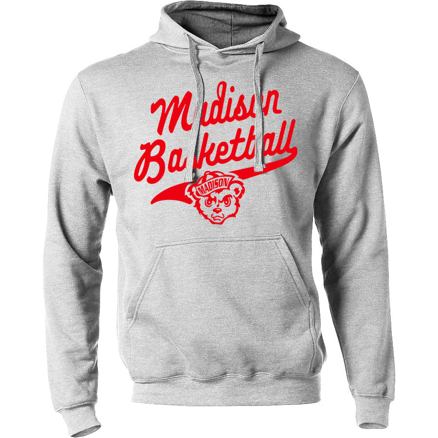 Madison Basketball Hoodie - Gray