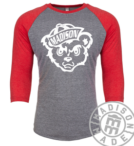 Madison Cubs Raglan Tee