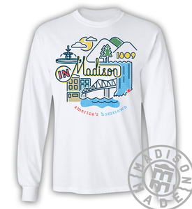 Madison Icons Long Sleeve Tee