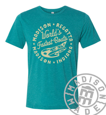 Regatta Fastest Boats Teal Tee