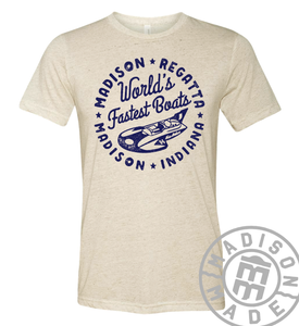 Regatta Fastest Boats Oatmeal Tee