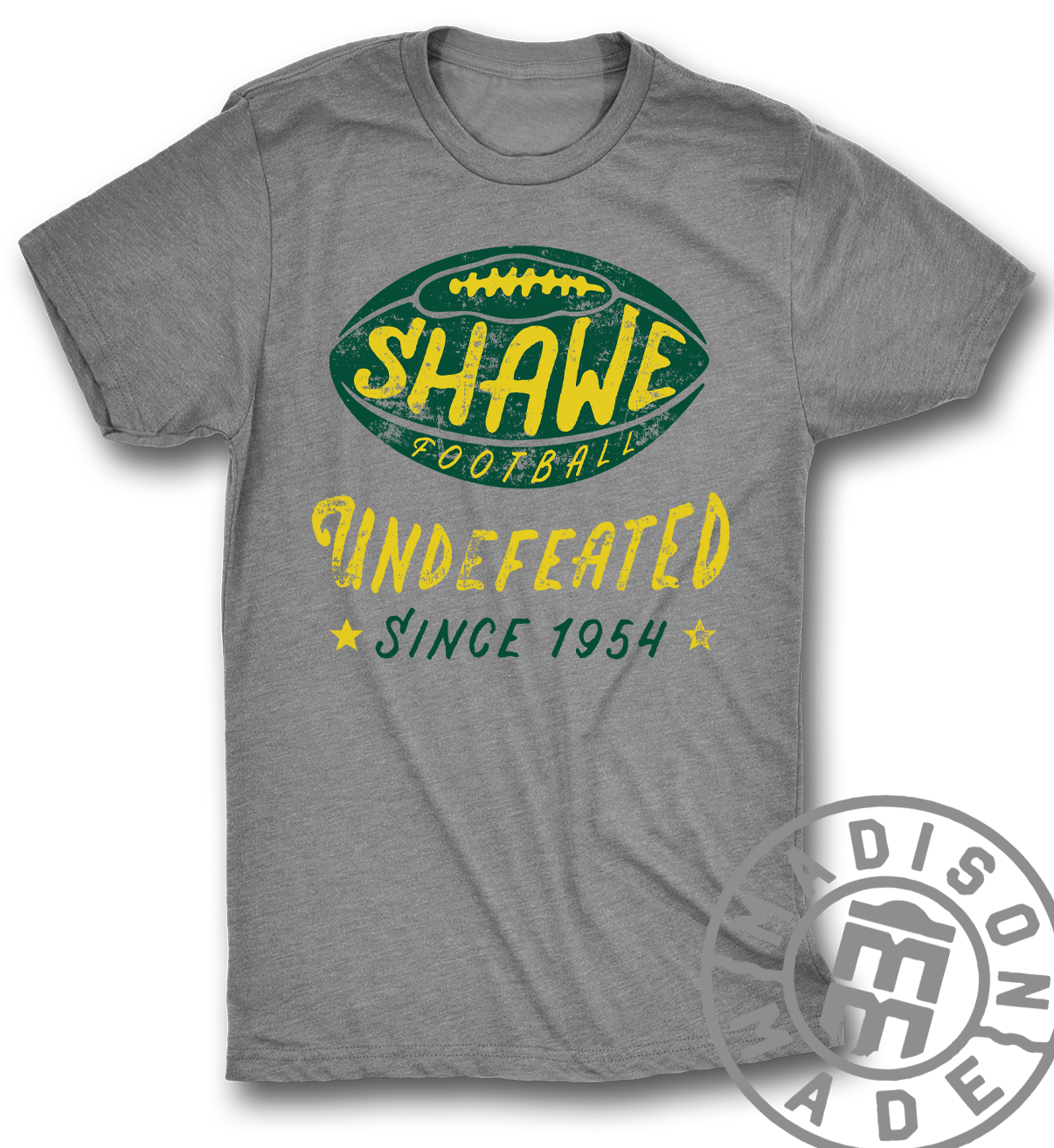 Shawe Football Gray Tee