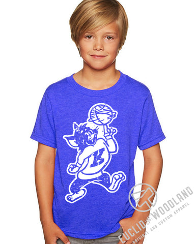Vintage Kentucky Wildcat Kids Tee
