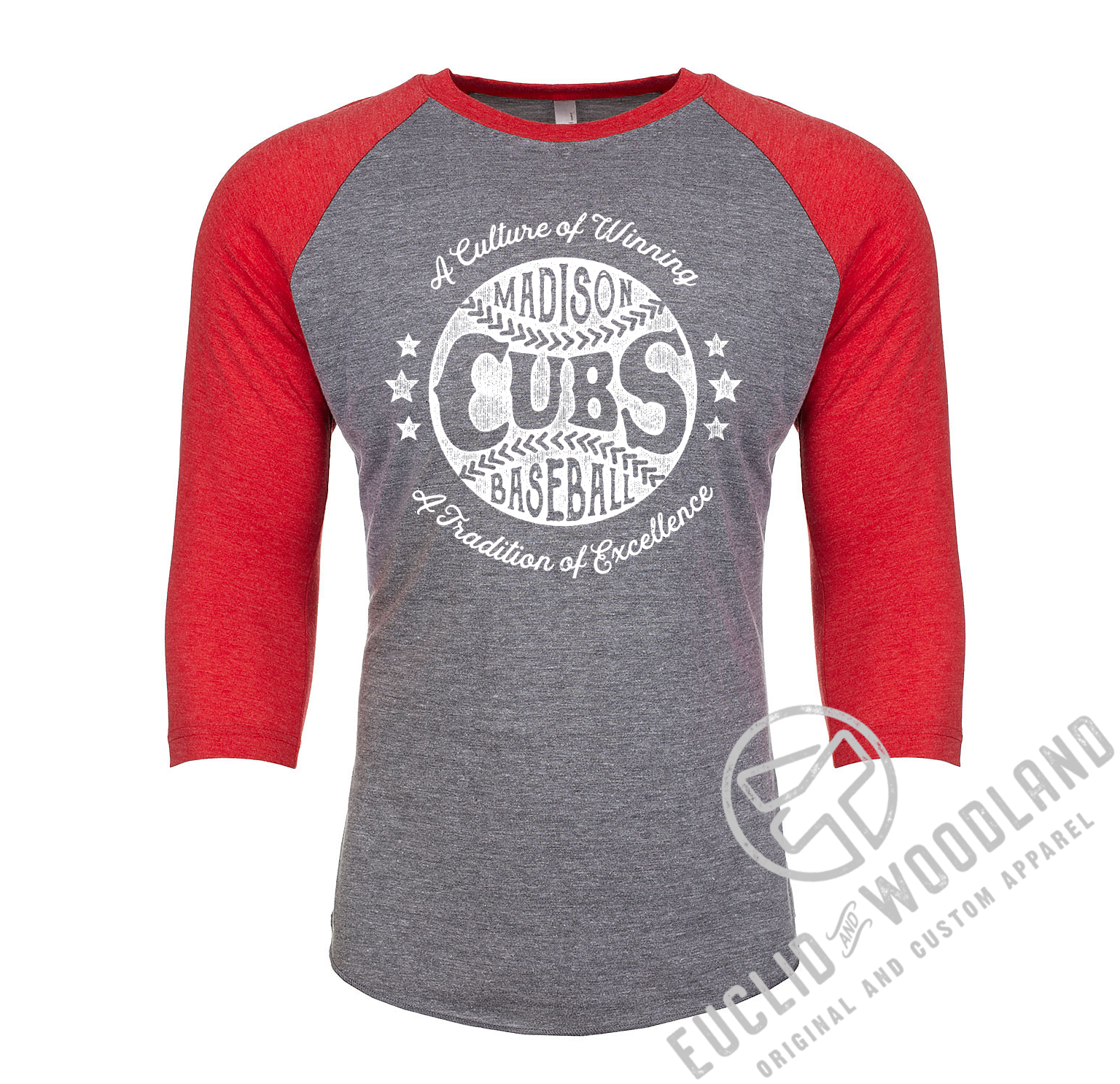Madison Cubs Baseball Raglan Tee