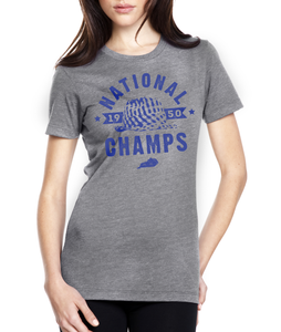 1950 National Champs Bear Women's Tee