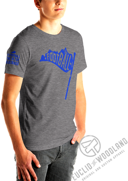 Kentucky Football Flag Tee