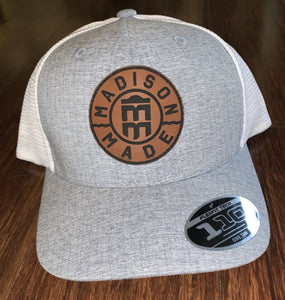 Madison Made Leather Patch Hat