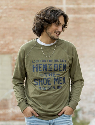 Hen & Ben Long Sleeve Tee