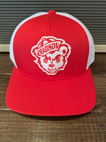 Madison Cubs Structured Trucker Hat