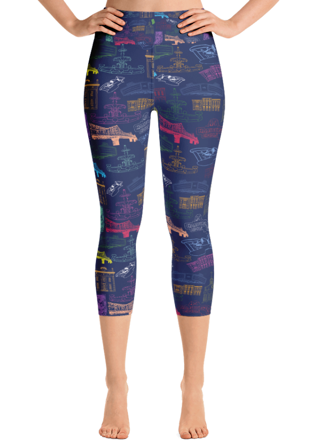 Madison Yoga Capri Leggings
