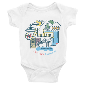 Baby Madison Icons Onesie