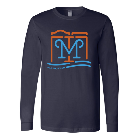 Madison M Long Sleeve Tee
