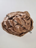 Toupees/Hairpiece, WNE-101G, Full French Lace, 100 % High Quality Remy Human Hair for Men