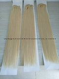 Clip In 100%  High Quality REMY HUMAN HAIR Extensions Blonde Color 613