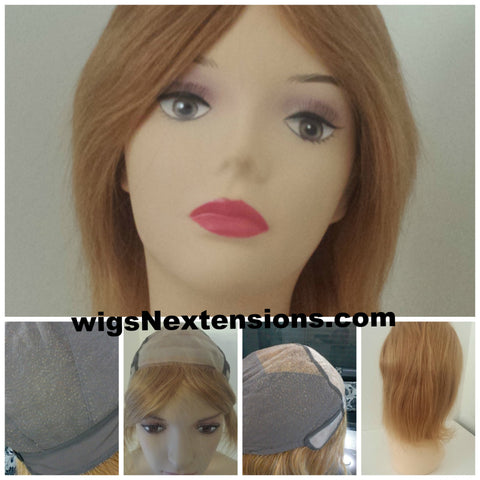 100 % High Quality Human Hair Medical Wig (Chemotherapy or Alopecia)