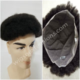 Toupees/Hairpiece, WNE-501, Full French Lace. AFRO CURL