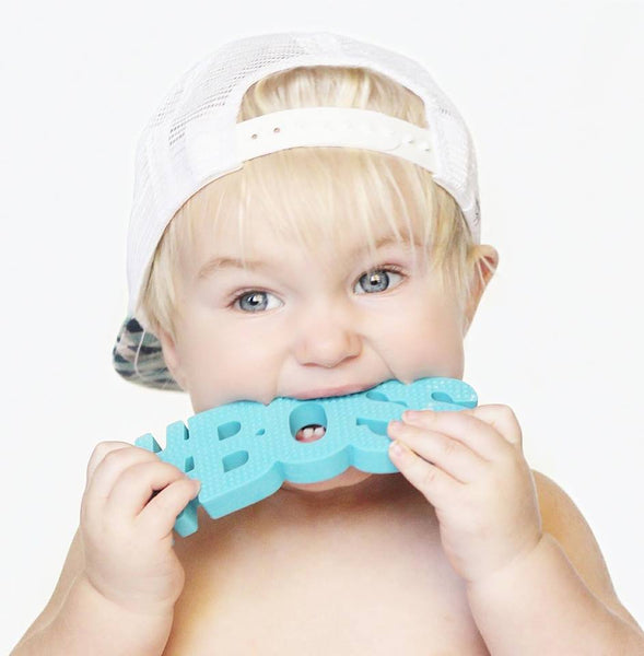 #BOSS (Blue) Teether