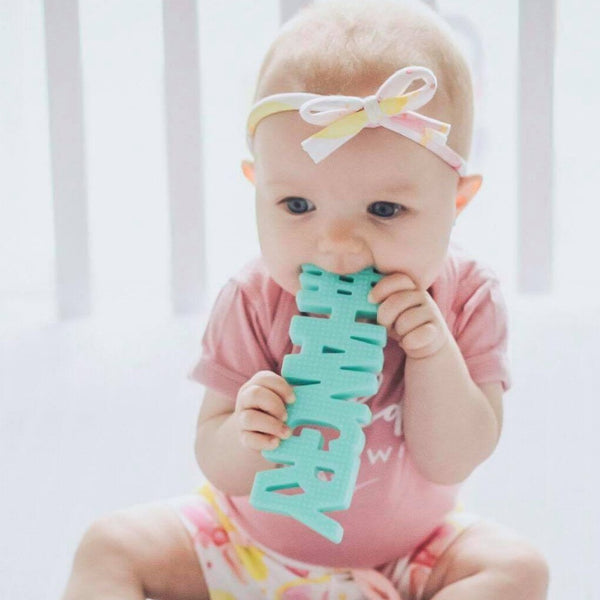 #HANGRY (mint) TEETHER