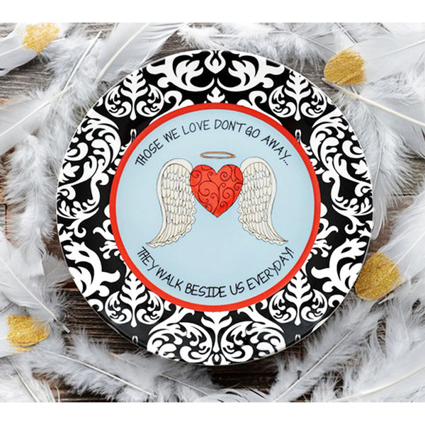 Always In Our Heart Ceramic Plate