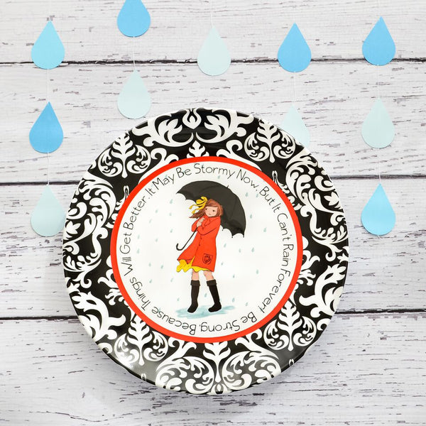 Weather The Storm Ceramic Plate
