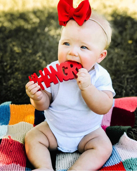 #HANGRY (red) TEETHER