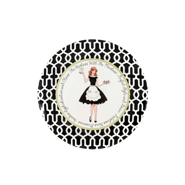 Hostess With The Mostess Ceramic Plate