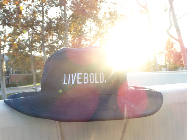 Live Bold Aussie Bucket Hat: Delayed Order (2 weeks)