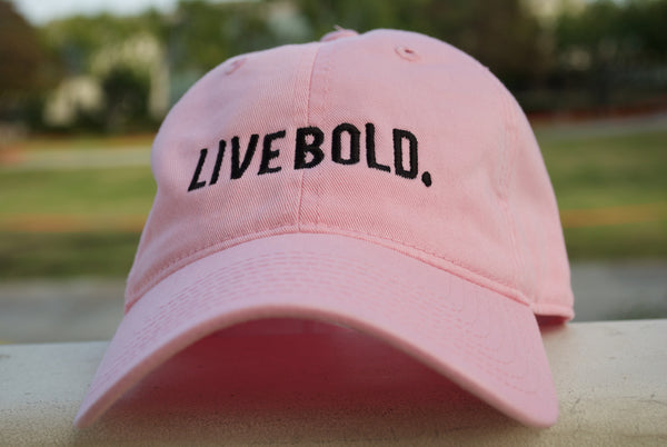 Live Bold Curved Bill Hats
