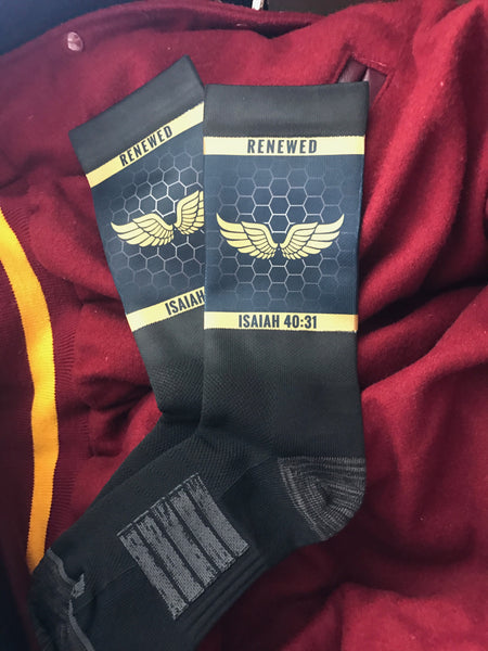 Renewed - Eagles Wings Socks
