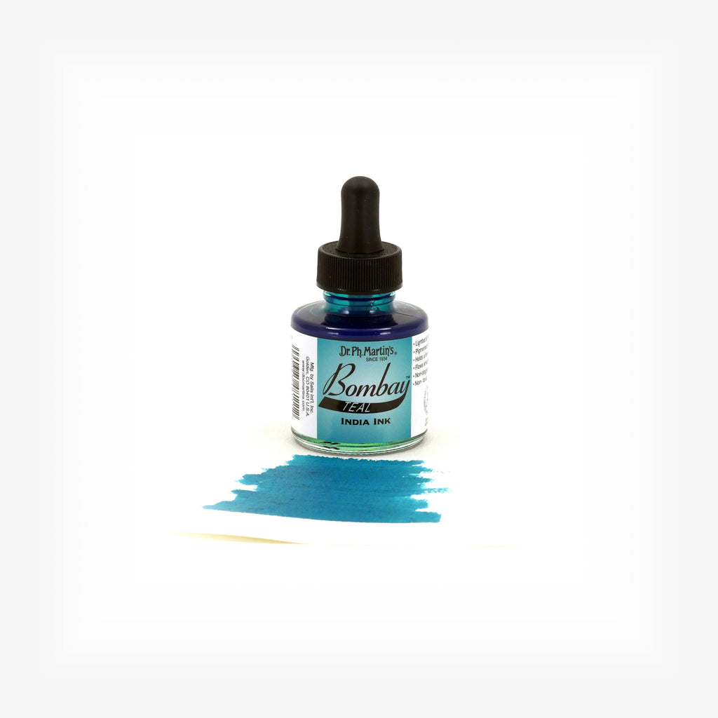 Dr. Ph. Martin's Bombay India Ink, 1.0 oz, Teal