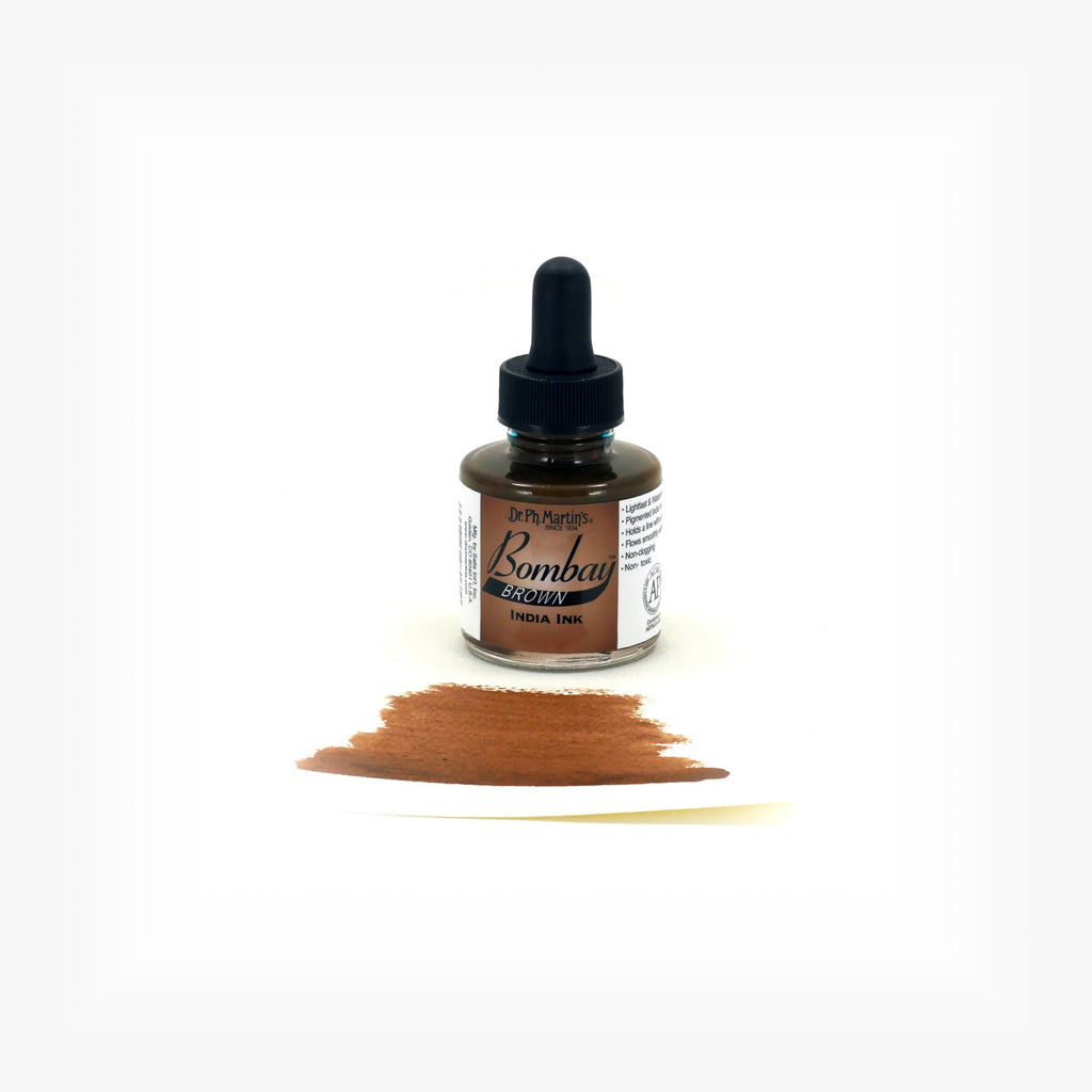 Dr. Ph. Martin's Bombay India Ink, 1.0 oz, Brown