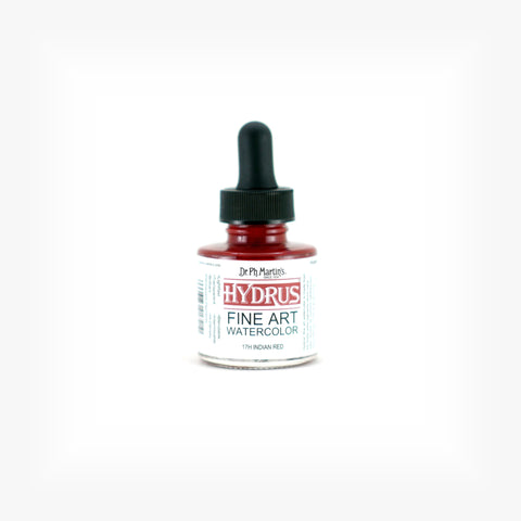 Dr. Ph. Martin's Hydrus Fine Art Watercolor, 1.0 oz, Indian Red (17H)