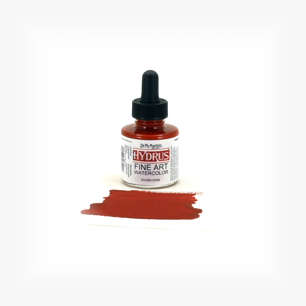 Dr. Ph. Martin's Hydrus Fine Art Watercolor, 1.0 oz, Red Oxide (31H)