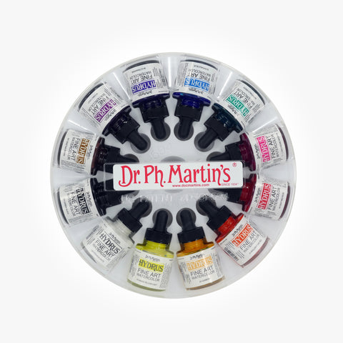 Dr. Ph. Martin's Hydrus Fine Art Watercolor, 1.0 oz, Set of 12 (Set 1)