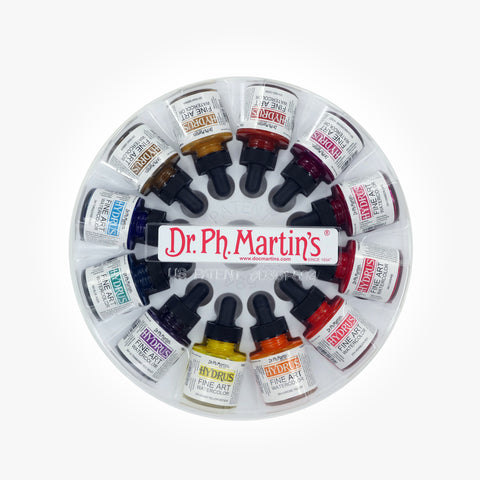 Dr. Ph. Martin's Hydrus Fine Art Watercolor, 1.0 oz, Set of 12 (Set 3)