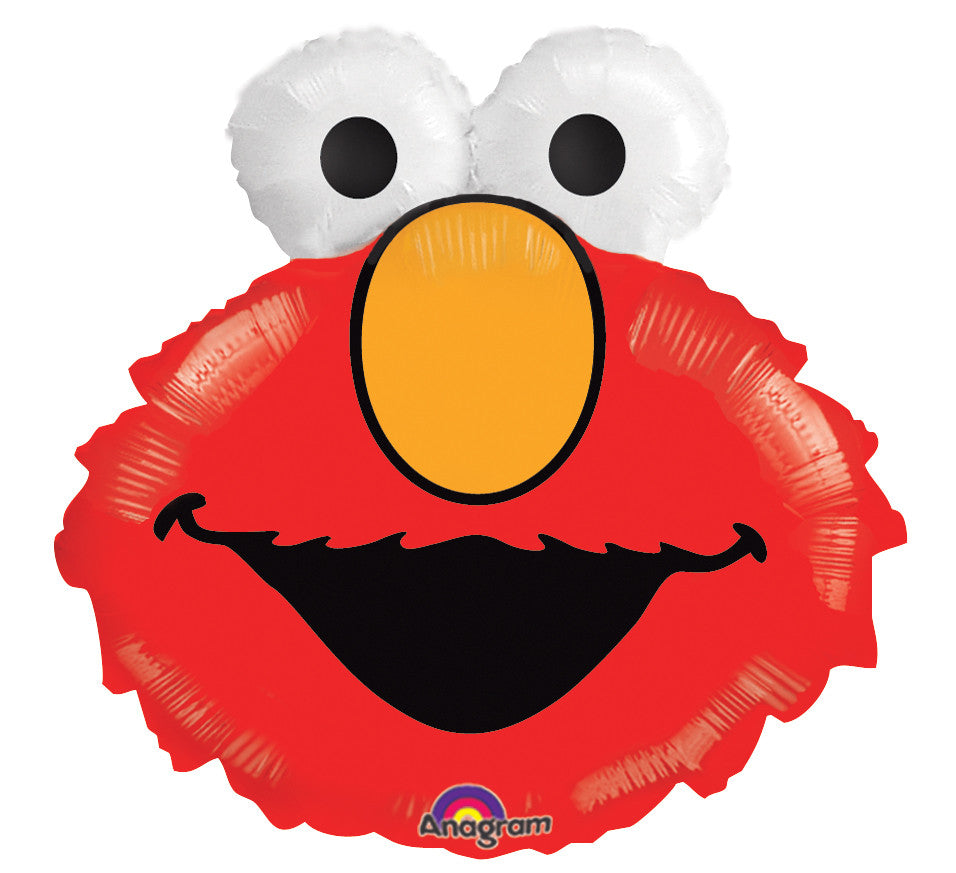 "25"" Elmo Head Foil Balloon"