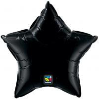 "20"" Black Star Foil Balloon"