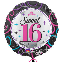 Sweet 16 Sparkle Foil Balloon